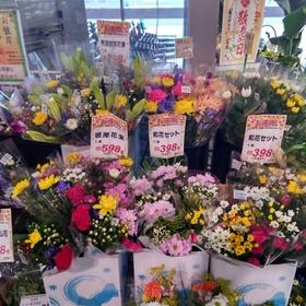 お彼岸用花束 437円(税込)
