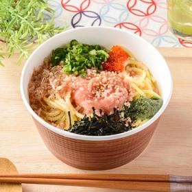 ちょい麺 東京たらこスパゲティ監修 お出汁のたらこパスタ 399円(税込)