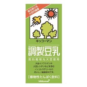 調製豆乳 214円(税込)