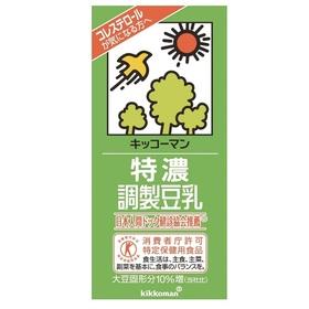 特濃調製豆乳 214円(税込)