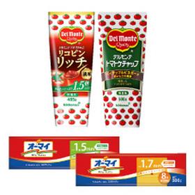 トマトケチャップ/濃厚トマトケチャップ/結束スパゲティ(1.5mm/1.7mm) 171円(税込)
