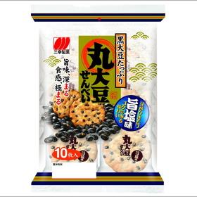 丸大豆せんべい 旨塩味 138円(税込)