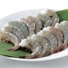 殻付きバナメイえび(養殖・解凍) 214円(税込)