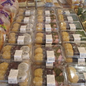 富田屋の和菓子各種 322円(税込)