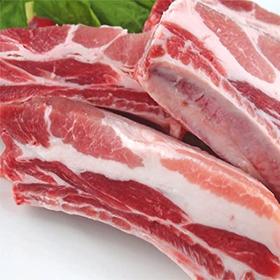 豚肩バラ肉スペアリブ 129円(税込)
