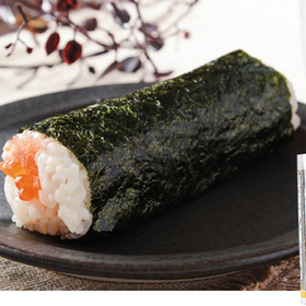 厳選手巻寿司 とろサーモンいくら 220円(税込)