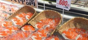 梅かま 細工鯛かまぼこ 680円(税抜)