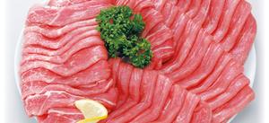 国産豚 もも肉 極うすぎり (1.0~1.5mmカット) 110円(税抜)