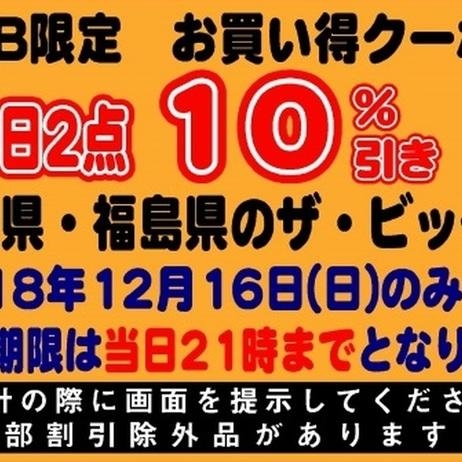 12月16日限定!WEB限定お買い得クーポン券!! 10%引
