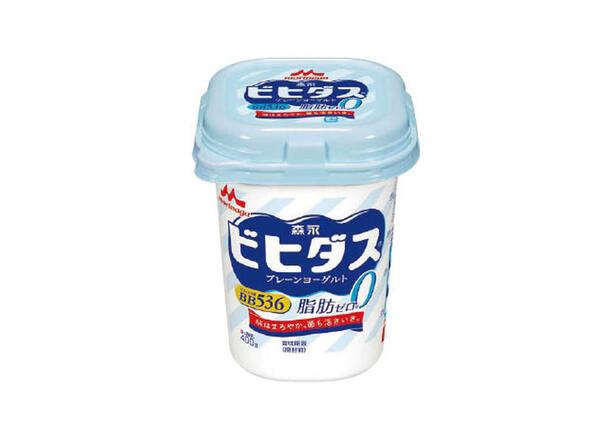 ビヒダス プレーンヨーグルト脂肪0 117円(税抜)