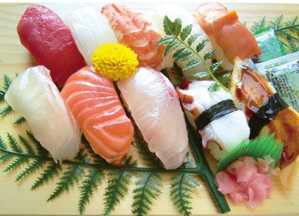 お魚屋さんのにぎり寿司 680円(税抜)