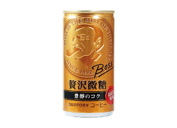 ボス 贅沢微糖 49円(税抜)
