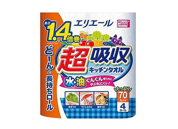 超吸収キッチンタオル 218円(税抜)