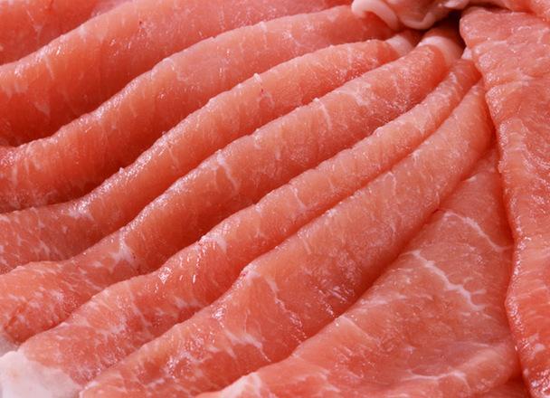 豚肉ロースうす切りスライス 247円(税込)
