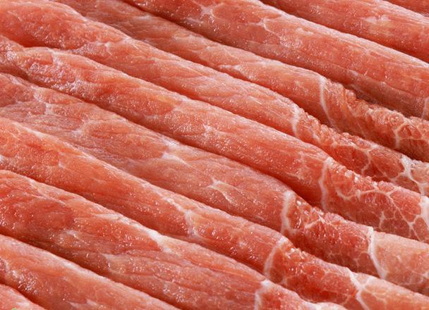 豚もも肉スライス 107円(税込)