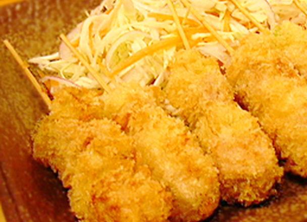 豚玉ねぎ串カツ 277円(税抜)