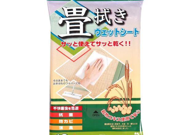 アズマ 畳拭きウェットシート 198円