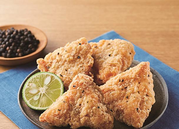 鶏からむね 旨み海鮮(黒胡椒) 200円