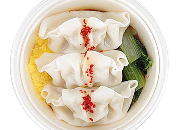 旨辛!餃子と野菜のチゲスープ 399円
