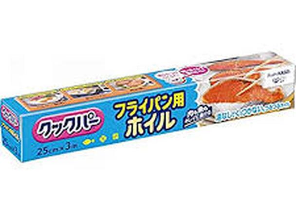クックパーフライパン用ホイル(25cm×3m) 168円(税抜)