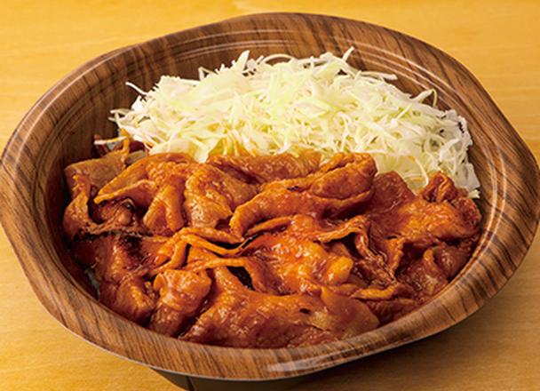 激辛豚焼肉丼 550円