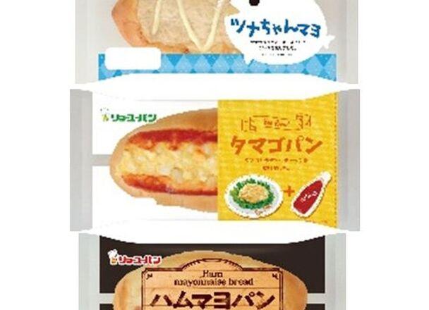 惣菜パン3品 79円