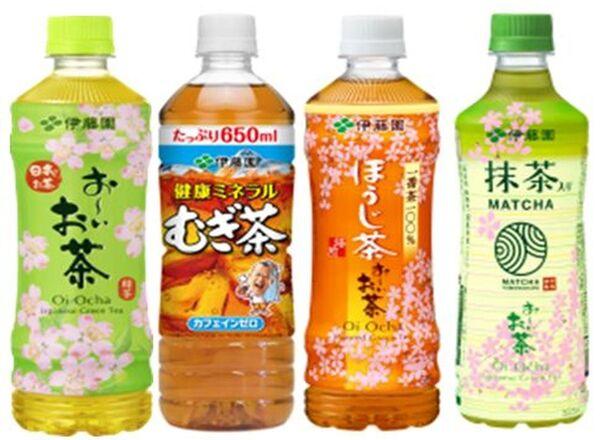 お~いお茶シリ-ズ4品 69円
