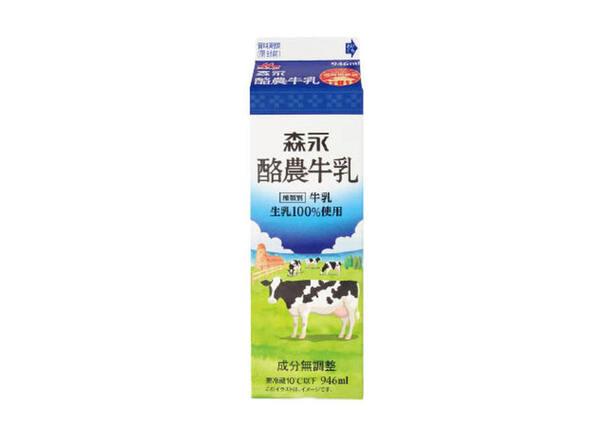酪農牛乳 218円(税抜)