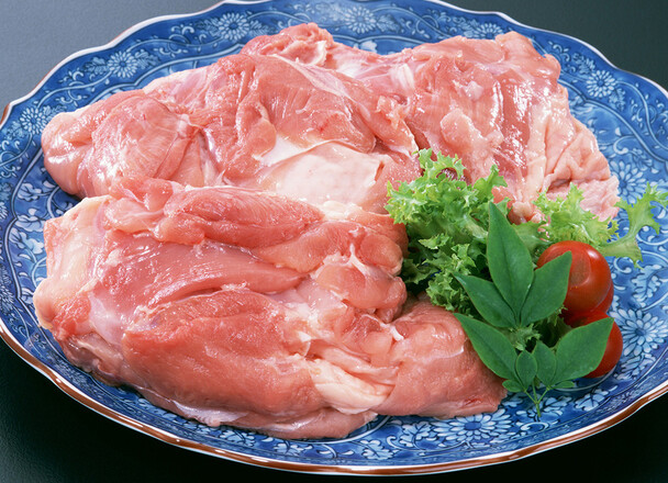 若鶏モモ肉(2枚入) 47円(税抜)