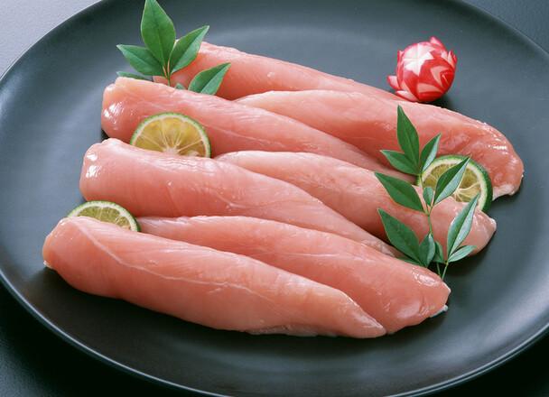 国産 若鶏ササミカツパン粉付(生) 322円(税込)