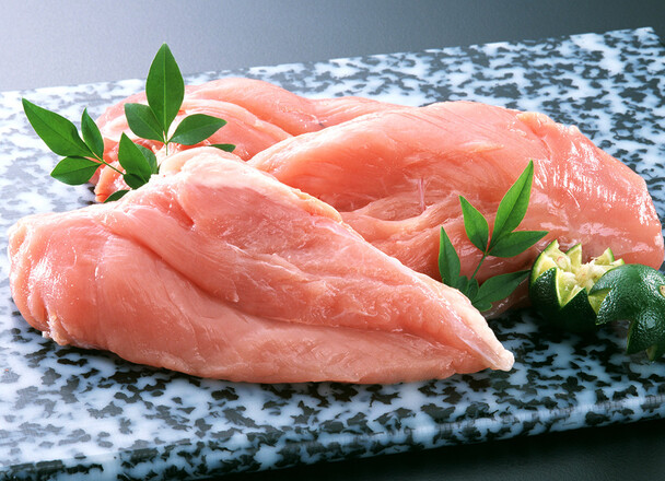 国産若鶏ムネ肉香草焼き 44円(税抜)