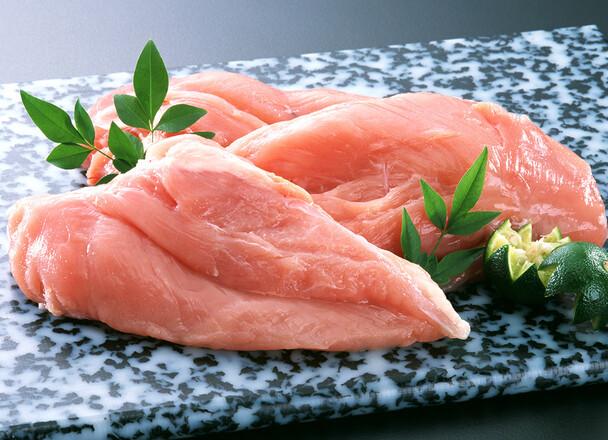 北海道産若鶏正肉(ムネ) 100g 48円(税抜)