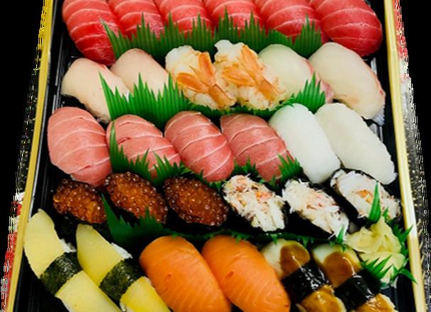 特上寿司 3,980円(税抜)