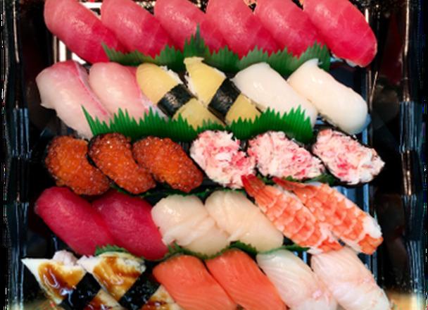 上寿司 3,218円(税込)