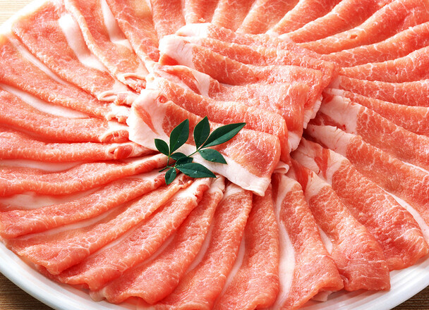豚ロース肉冷しゃぶ用 191円(税込)