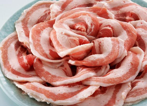 豚バラカルビ焼肉用 218円