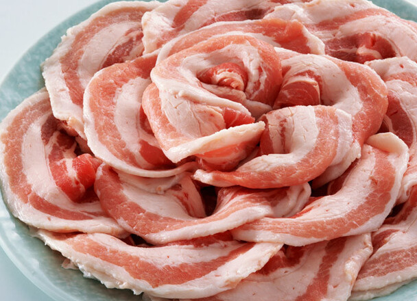 豚バラ肉うすぎりスライス 109円(税抜)