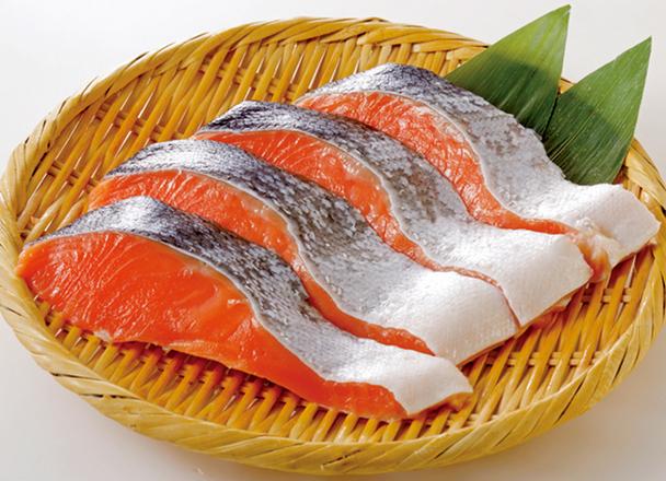 塩鮭(紅鮭) 125円(税抜)
