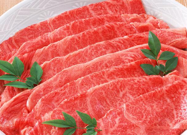 牛モモ・バラすき焼き用 398円(税抜)