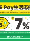 増税を吹き飛ばせ!!LINE Pay生活応援祭