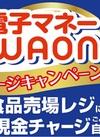 電子マネーWAONチャージキャンペーン!