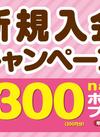 nanaco新規入会キャンペーン開催中!