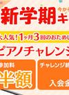 【3月末まで】とってもお得 ピアノチャレンジ 入会プランA
