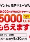 マイナポイント5,000WAONもらえます!