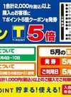第3日曜日ご来店感謝Tポイント5倍クーポン配付!