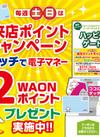 『電子マネーWAON』土日来店ポイントキャンペーン