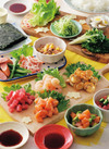 子どもも食べやすい!バラエティ手巻き寿司