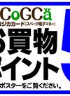 6/29(土)スパークコジカカードお買物ポイント5倍!