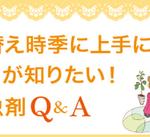 衣替え時季に上手に活用ココが知りたい!防虫剤Q&A