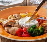 チーズフォンデュ&トマト煮込み「鶏もも肉」レシピ @フレスタ